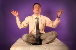 méditation sur les pensées