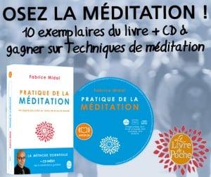 Concours « Pratique de la méditation »