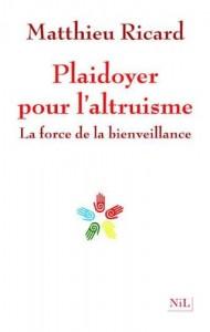 """Le livre """"Playdoyer pour l'altruisme"""""""