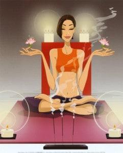 5 étapes de la méditation