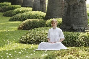 Méditer sous un arbre