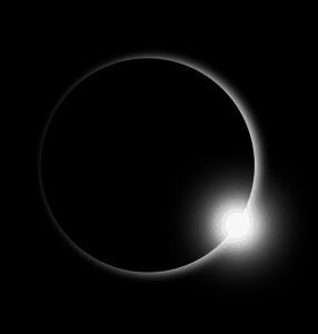 méditer pendant une éclipse