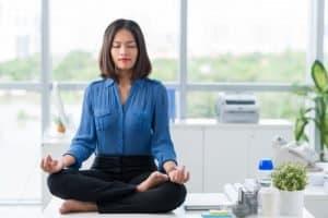 méditer au travail
